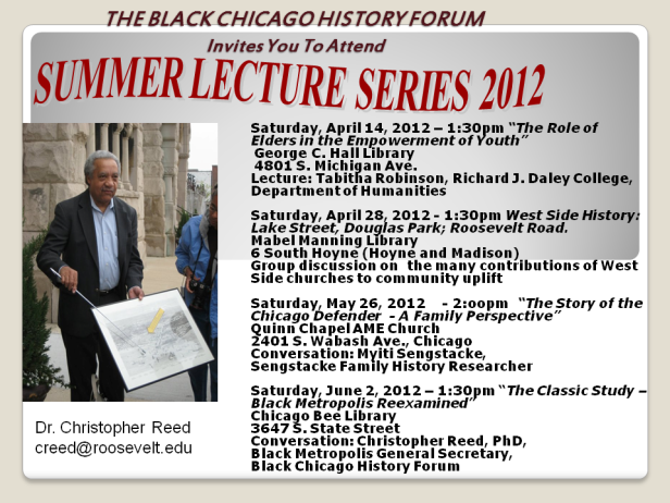 The Black Chicago History Forum
