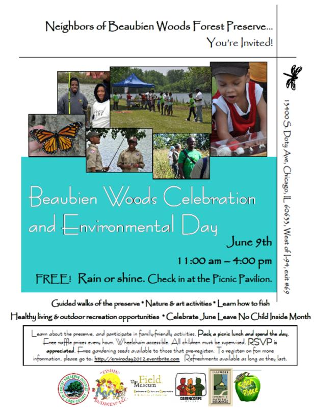 Beaubien Woods Environmental Day - June 9 at 11am