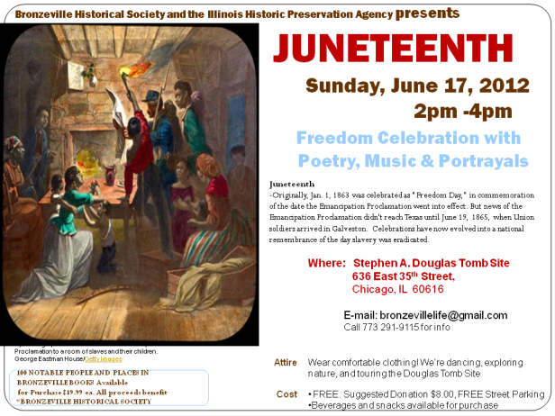 Juneteenth at Douglas Site - Sat. June 17, 2pm-4pm