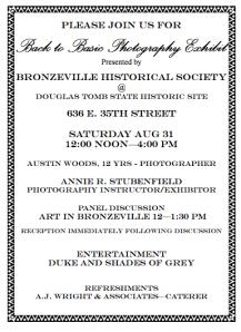 Photo Exhibit at Douglas Site