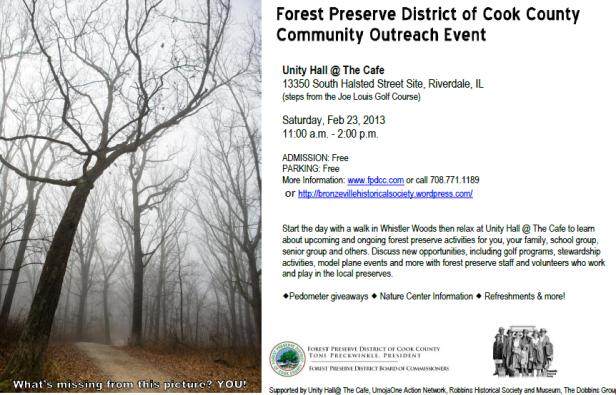 Community Outreach event - Sat. Feb 23, 2013