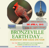 Bronzeville Migratory Bird Tour and EARTH DAY CELEBRATION! Sat. April 4, 2015