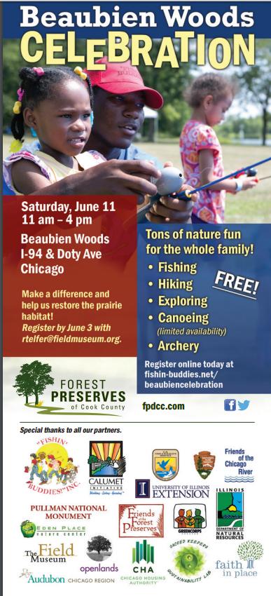 Beaubien Woods event June 11 2016